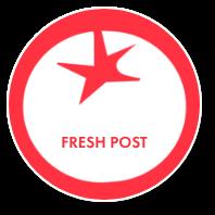 Fresh post badge